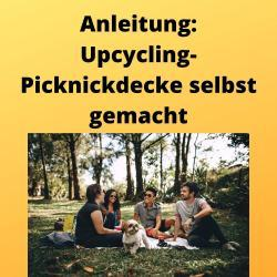 Anleitung Upcycling-Picknickdecke selbst gemacht