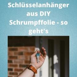 Schlüsselanhänger aus DIY Schrumpffolie - so geht's